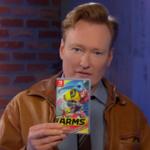 Conan O'Brien y el actor Will Arnett se dan de tortas en ARMS en un vídeo que no te puedes perder
