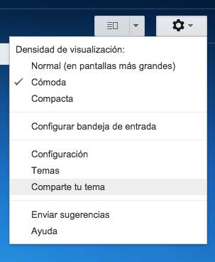 Gmail Compartir