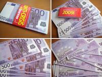 Francia plantea suprimir billete de 500 euros
