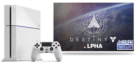 La versión blanca de PS4 se venderá junto a Destiny en un nuevo pack [E3 2014]