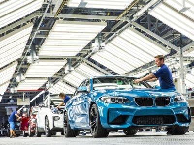 El BMW M2 Coupé ya ha pasado a fábrica