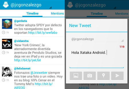Boid, un cliente de Twitter optimizado para Ice Cream Sandwich