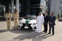 Lexus RC F, el coche que faltaba a la policía de Dubai
