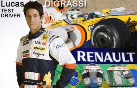 Lucas Di Grassi podría quitarle el asiento a Nelsinho Piquet