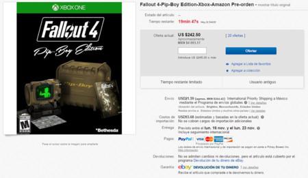 Pip Boy Edition Ebay