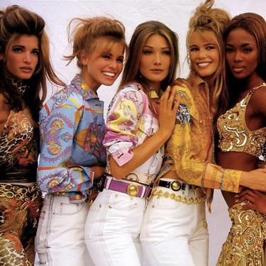 Las supermodelos de los 90 en 44 fotos de entonces y ahora