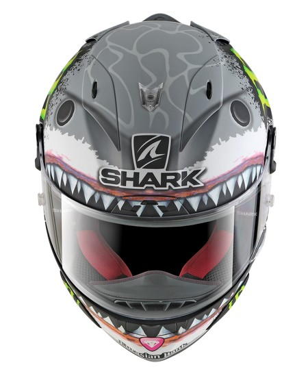 Shark Race R Pro White Shark Jorge Lorenzo 1