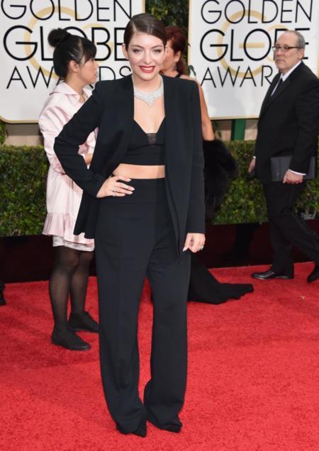 Lorde Globos de Oro 2015