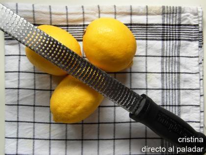 Spaghetti al limon