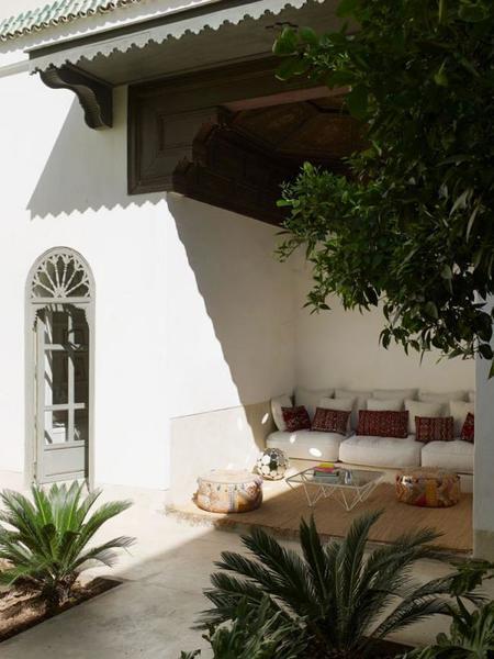 rehabilitación de un Riad marroquí