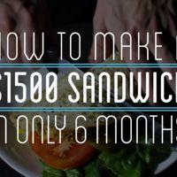 La mano invisible en acción: un sándwich de seis meses y 1.500 dólares