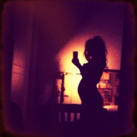 Nena Daconte embarazada