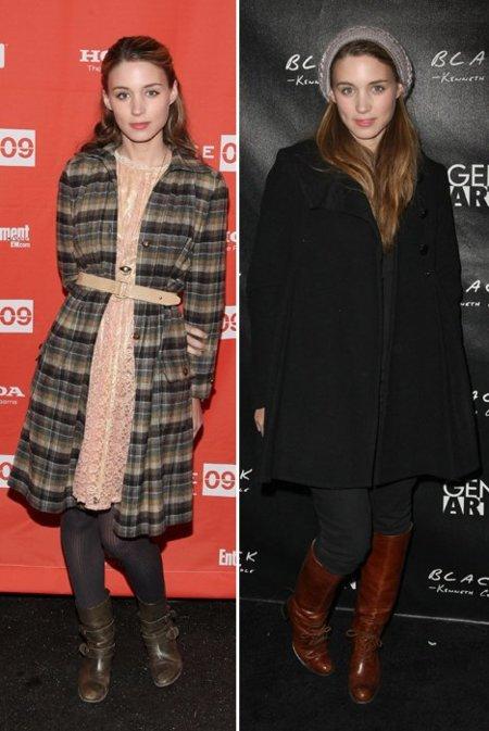 Rooney Mara look 2009