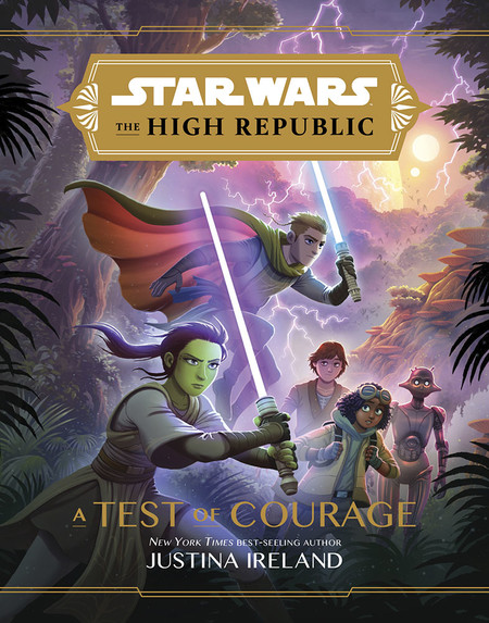Star Wars High Republic Test Of Courave Cover 0220