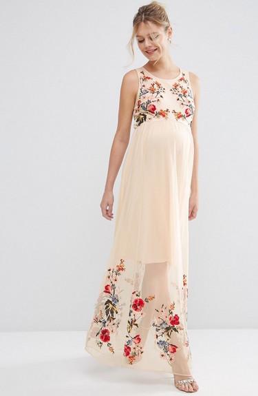 Los vestidos de fiesta (premamá) más bonitos para comprar en las rebajas