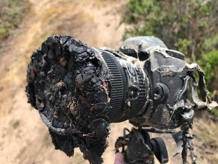 Esta cámara de la NASA se derritió durante un lanzamiento de SpaceX, las fotos sobrevivieron