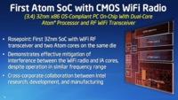 Intel Rosepoint: un Atom con Wifi integrado en la CPU