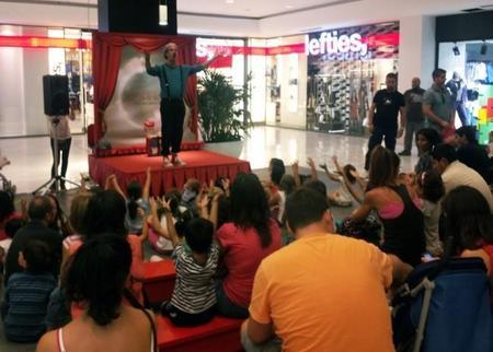 La Vaguada en julio prepara espectáculos para peques con títeres, payasos, cuentacuentos y mucha magia
