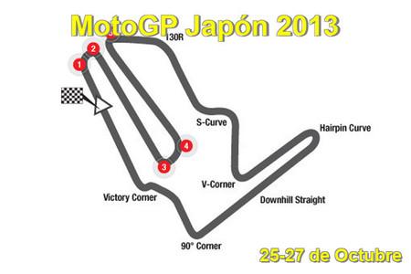 MotoGP Japón 2013: toda la información a un click de distancia