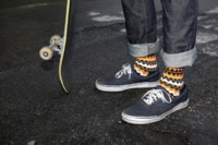 Los pies más hipsters visten de Happy Socks
