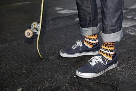 Los pies más hipsters visten de Happy Socks