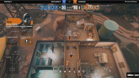 Rainbow Six Siege sigue creciendo en España con Predator Rainbow Six Siege Major
