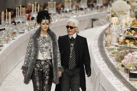 Stella Tennant Karl Lagerfeld