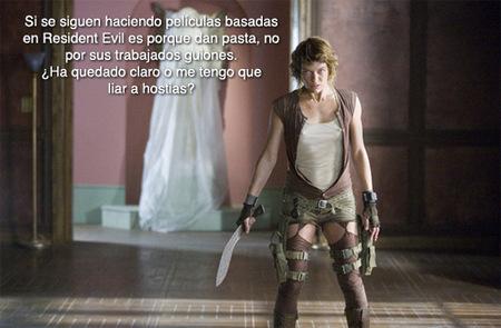 'Resident Evil: Afterlife': algunos detalles sobre la cuarta película de la saga
