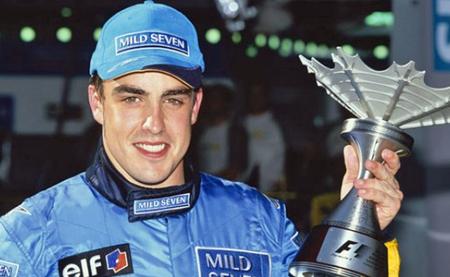 Fernando Alonso 2003 Copa Sepang