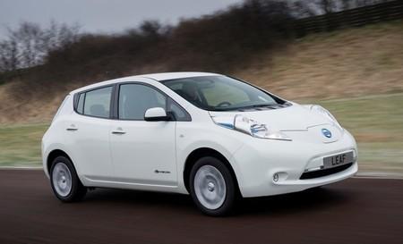 Nissan LEAF 2013 blanco 91