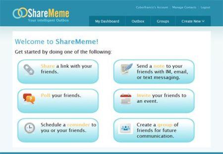 ShareMeme, crea grupos de usuarios e interactúa con ellos