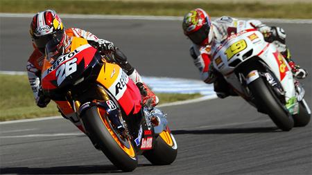 MotoGP Japón 2012: Dani Pedrosa lidera el primer podio de MotoGP formado por pilotos españoles