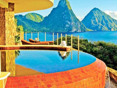 Las villas de este resort del Caribe solo tienen tres paredes... y el infinito ante nuestros ojos