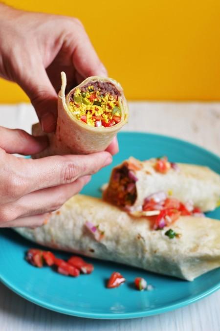Burrito De Tofu A La Mexicana 1364
