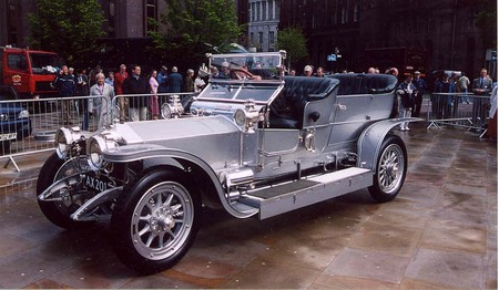 Rolls Royce Silver Ghost At Centenary