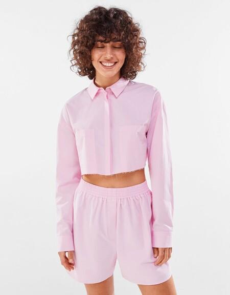 Bershka Camisa Bermuda 01