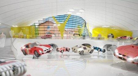 Enzo Ferrari Museum Rendering interior 1