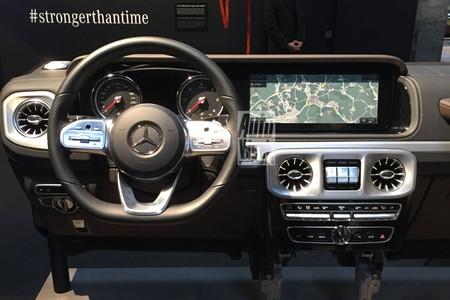 Mercedes Clase G Interior Filtrado