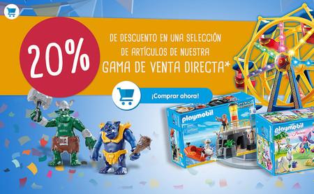 Rebajas Playmobil: 20% de descuento en venta directa y ofertas en packs promocionales