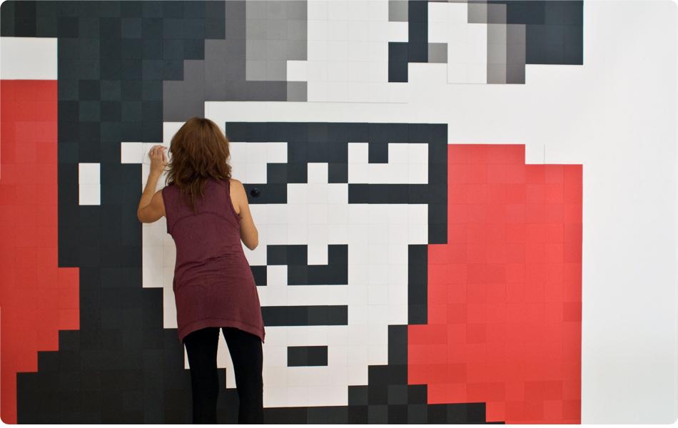 Foto de Feria Hábitat Valencia 2010: haz de tu pared un cuadro con Pixels XL (5/7)
