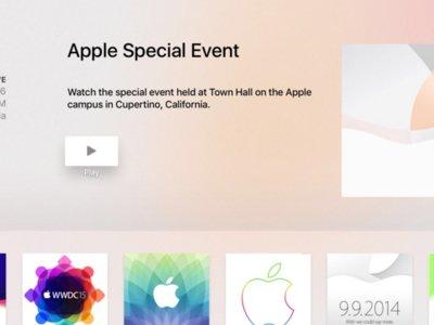 Empieza el hype: la aplicación para ver la keynote ya está disponible en el nuevo Apple TV