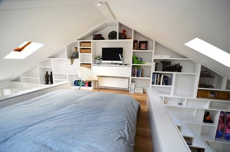 dormitorio loft camden