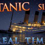 Animación del hundimiento del Titanic en tiempo real