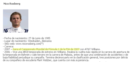 El campeón de 2007 fue...¡Nico Rosberg!
