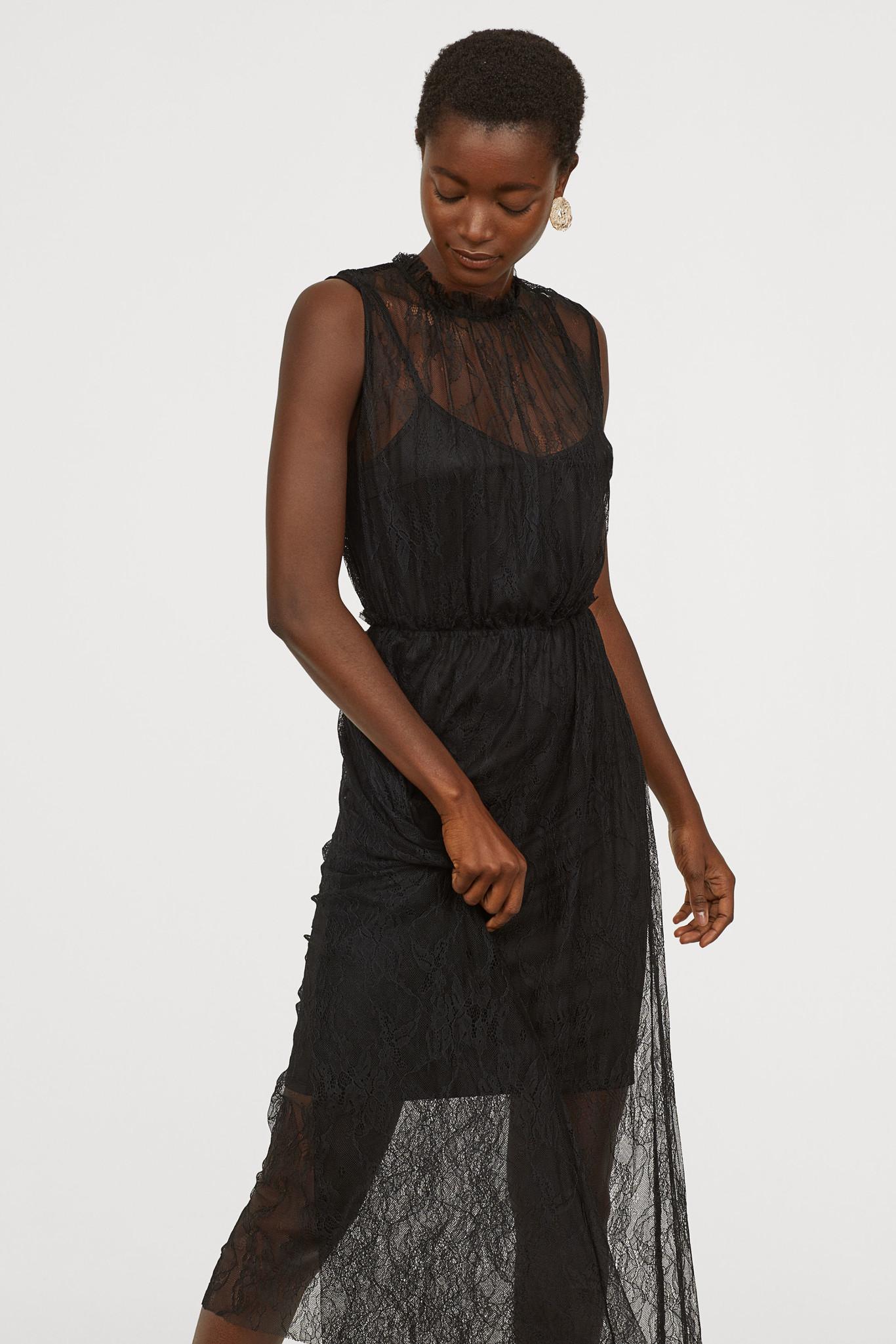 50f9425c32b2 Estos vestidos de fiesta de H&M te solucionarán los eventos ...