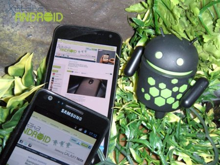 Comparativa: Galaxy Nexus vs. Samsung Galaxy SII
