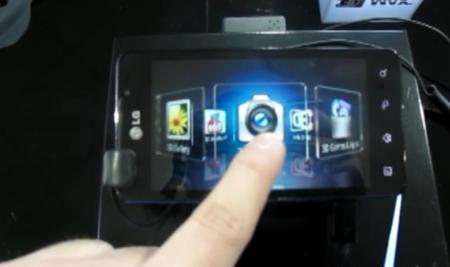 El LG Optimus 3D se pasea delante nuestro
