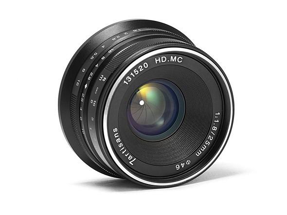 7Artisans 25 mm. f/1,8 para Sony, Fujifilm X y Micro Cuatro Tercios
