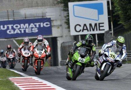 Las Superbikes pararán en el circuito de Alcañiz en 2011