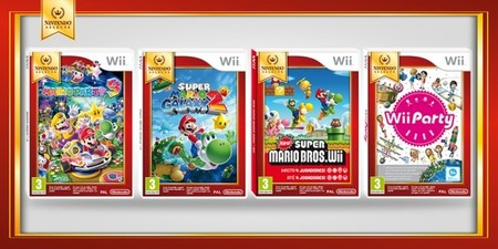New Super Mario Bros Wii Super Mario Galaxy 2 Mario Party 9 Y Wii